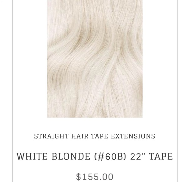 Bombay Hair Extensions Other Bombay Tape In Extensions White